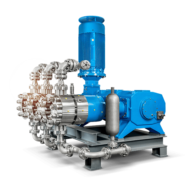 LEWA triplex process pump