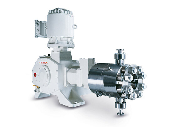 Pumps according to hygienic design