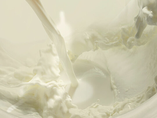 Yoghurt production in the food industry